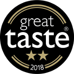 Great Taste Award 2018 2 star